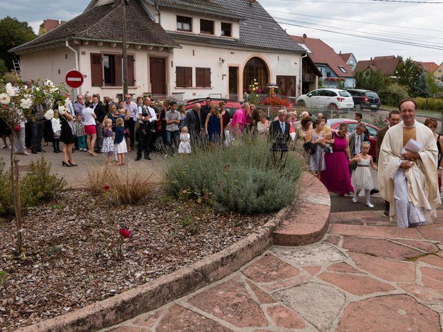 Le mariage de Olivier et Mélanie à Steige, Bas Rhin 7