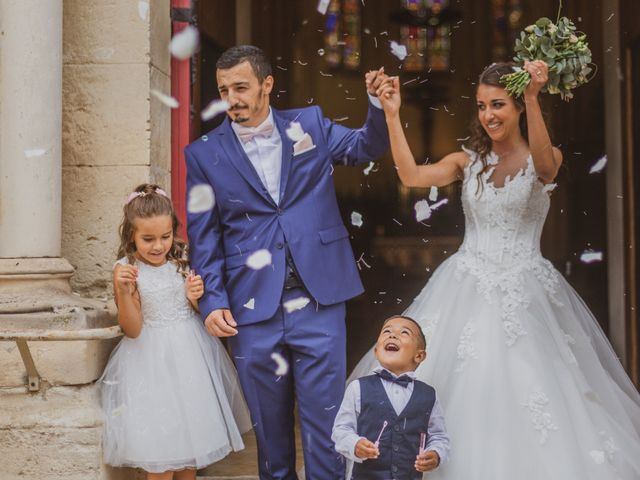 Le mariage de Samuel et Mélanie à Aimargues, Gard 10