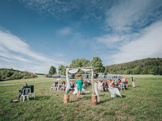 Le mariage de Jimmy et Christelle à Pontarlier, Doubs 10
