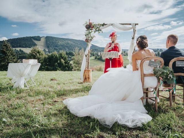 Le mariage de Jimmy et Christelle à Pontarlier, Doubs 11