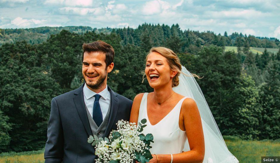 Le mariage de Mathieu et Caroline à Limoges, Haute-Vienne