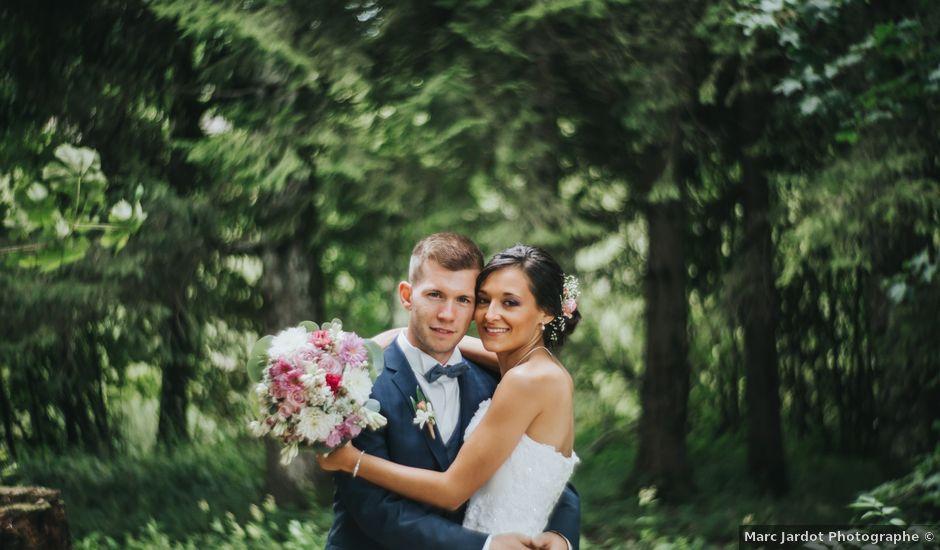 Le mariage de Jimmy et Christelle à Pontarlier, Doubs