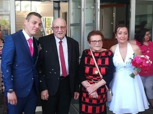 Le mariage de Virgile et Elodie à Saint-Doulchard, Cher 50