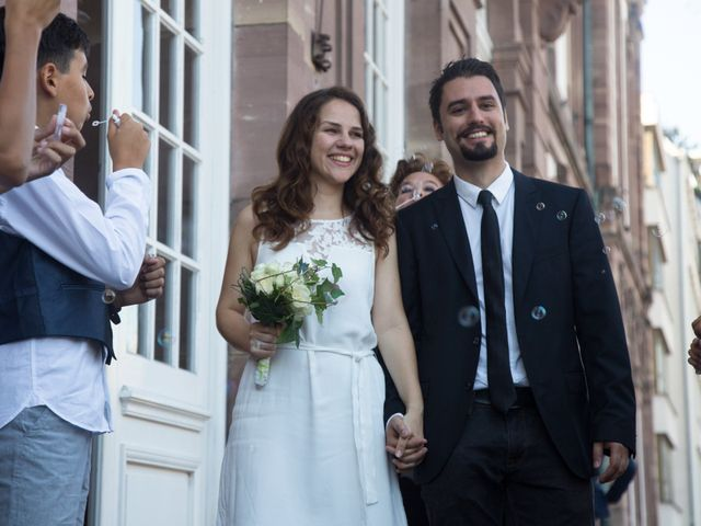 Le mariage de Bruno et Stéphanie à Strasbourg, Bas Rhin 9