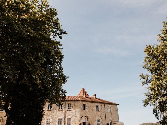 Le mariage de Florent et Elsa à Vignieu, Isère 12