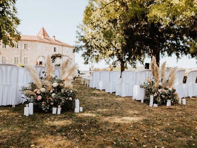 Le mariage de Florent et Elsa à Vignieu, Isère 15