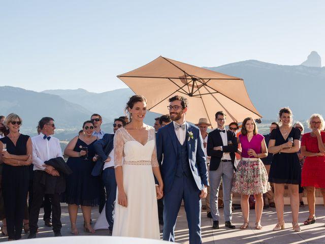 Le mariage de Domitille et Paul à Roissard, Isère 9