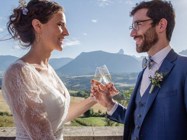 Le mariage de Domitille et Paul à Roissard, Isère 1