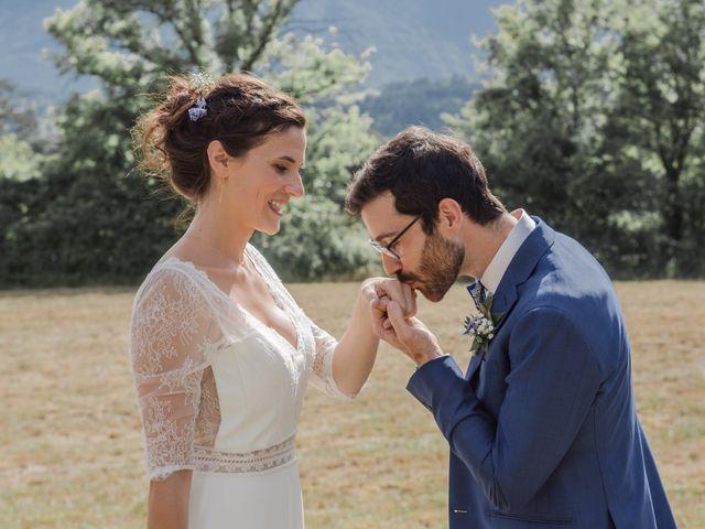 Le mariage de Domitille et Paul à Roissard, Isère 13