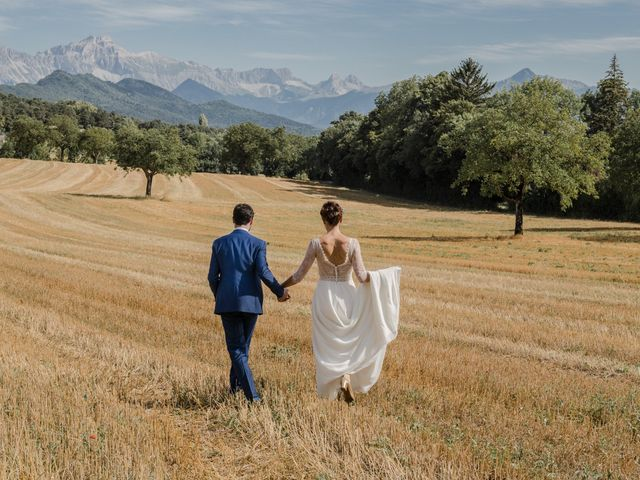 Le mariage de Domitille et Paul à Roissard, Isère 2