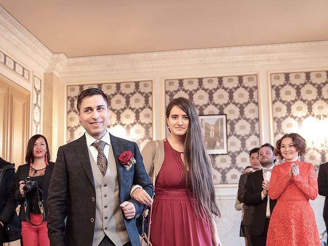 Le mariage de Felipe et Aigul à Louveciennes, Yvelines 27