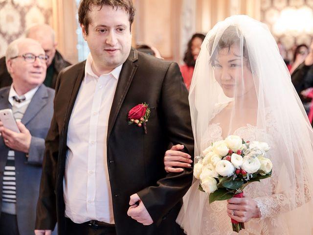 Le mariage de Felipe et Aigul à Louveciennes, Yvelines 33