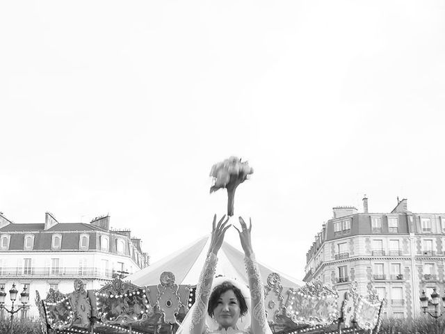 Le mariage de Felipe et Aigul à Louveciennes, Yvelines 63