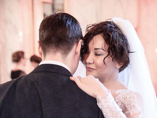 Le mariage de Felipe et Aigul à Louveciennes, Yvelines 86