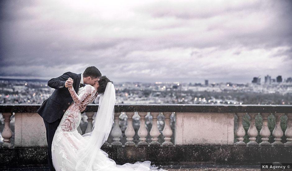 Le mariage de Felipe et Aigul à Louveciennes, Yvelines
