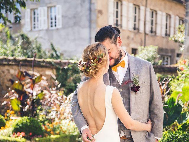 Le mariage de Richard et Alice à Avallon, Yonne 1