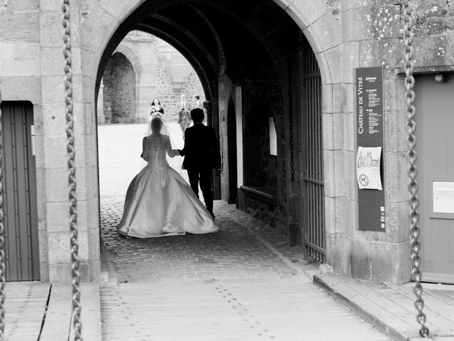 Le mariage de Frédéric et Erelle à Vitré, Ille et Vilaine 5
