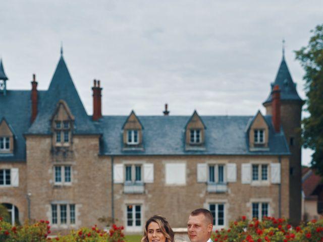 Le mariage de Corrado et Agathe  à Amondans, Doubs 10