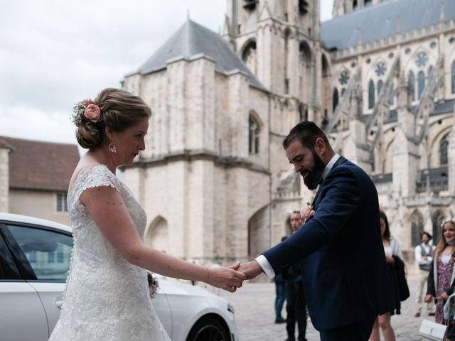 Le mariage de Felipe et Emmanuelle à Bourges, Cher 15