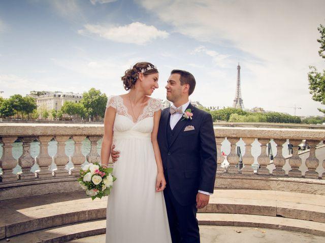 Le mariage de Edouard et Juliette à Paris, Paris 13