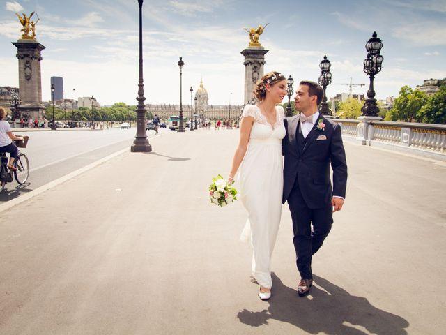 Le mariage de Edouard et Juliette à Paris, Paris 2