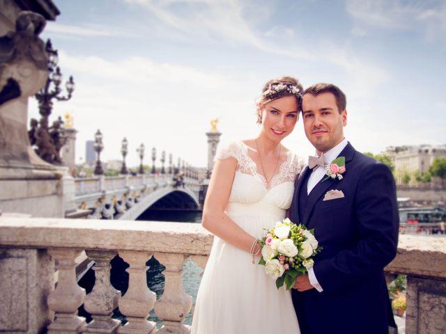 Le mariage de Edouard et Juliette à Paris, Paris 14