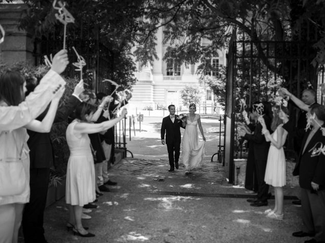 Le mariage de Edouard et Juliette à Paris, Paris 18