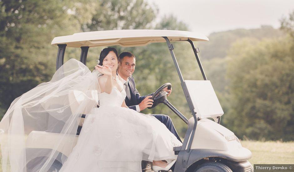 Le mariage de Mattéo et Yanquing à Aix-les-Bains, Savoie