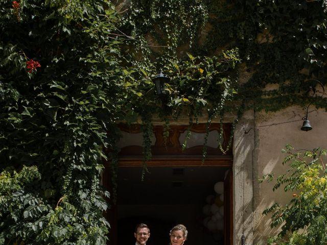 Le mariage de Romain et Cynthia à Maubec, Isère 13