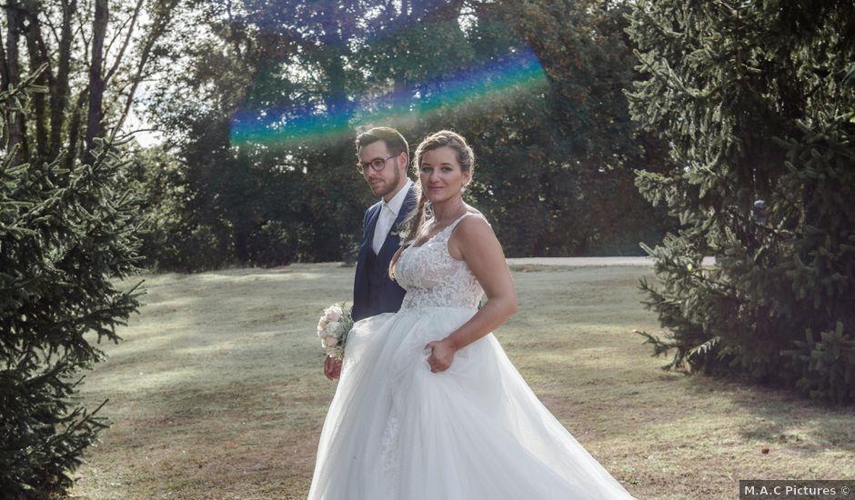 Le mariage de Romain et Cynthia à Maubec, Isère