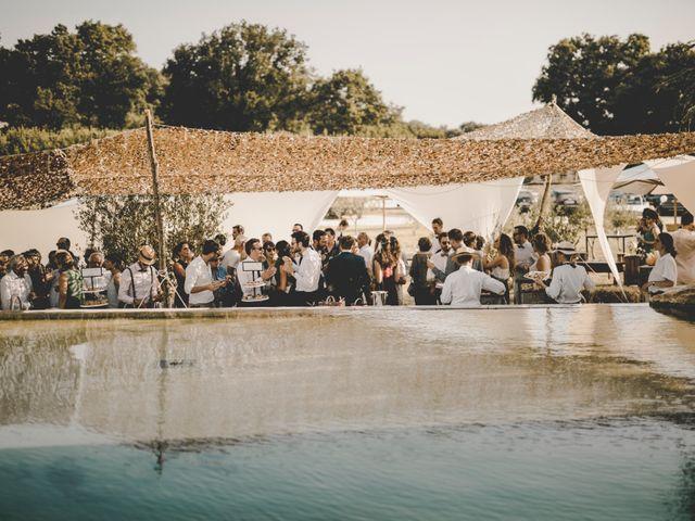 Le mariage de Alexis et Maëlle à Verfeuil, Gard 77
