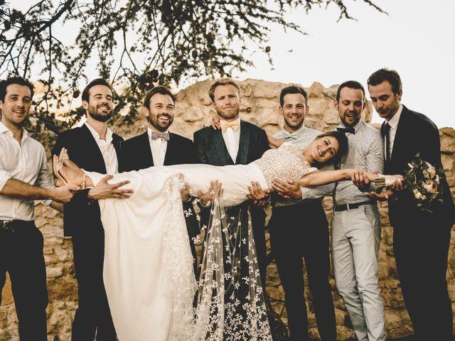 Le mariage de Alexis et Maëlle à Verfeuil, Gard 79