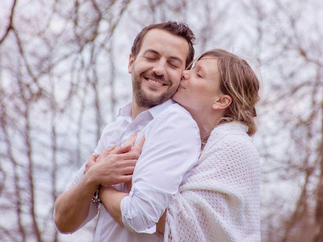 Le mariage de Florian et Solène à Athis de l'Orne, Orne 1