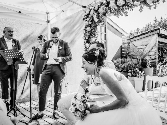 Le mariage de Yoann et Catherine à Chambles, Loire 73