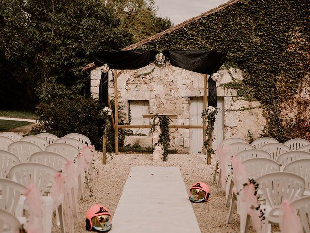 Le mariage de Jean-Baptiste et Coralie à Magnac-sur-Touvre, Charente 18