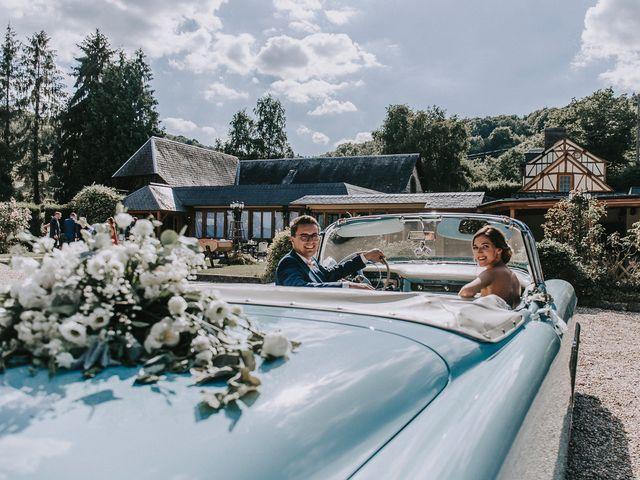 Le mariage de Clément et Laura à La Bouille, Seine-Maritime 94