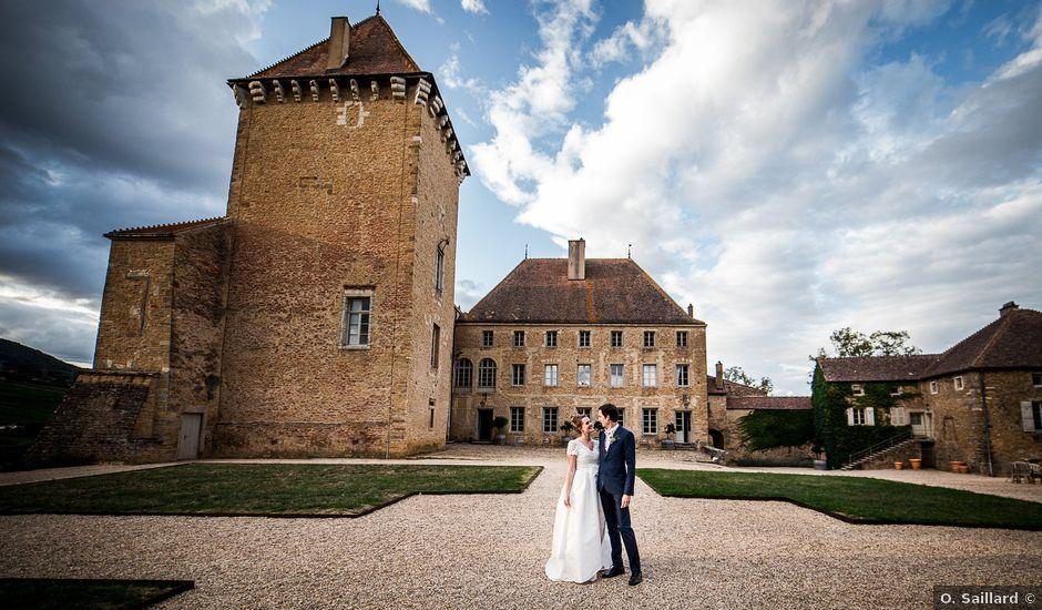 Le mariage de Emma et Cyril à Pierreclos, Saône et Loire