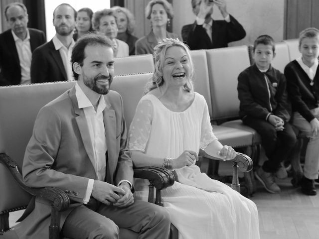 Le mariage de Pierre-Marie et Carine à Paris, Paris 22