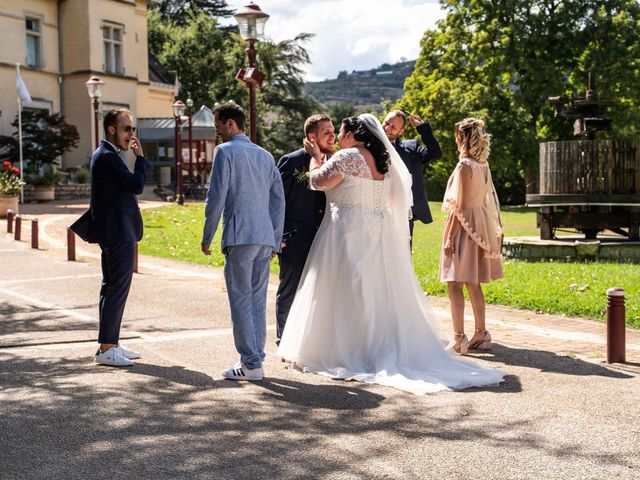 Le mariage de Baptiste et Anne Sophie à Saint-Vallier, Drôme 15