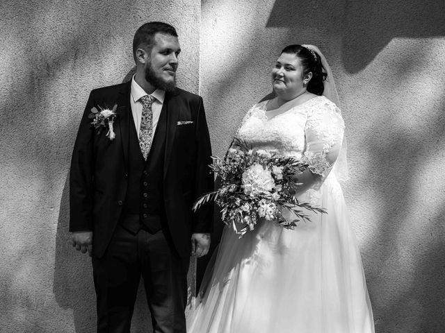 Le mariage de Baptiste et Anne Sophie à Saint-Vallier, Drôme 16