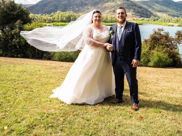 Le mariage de Baptiste et Anne Sophie à Saint-Vallier, Drôme 17