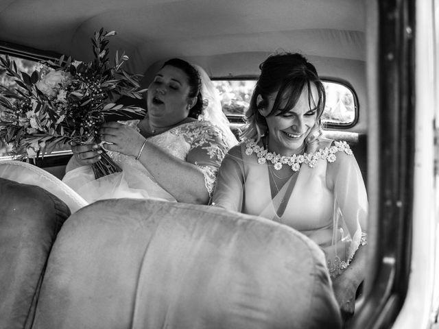 Le mariage de Baptiste et Anne Sophie à Saint-Vallier, Drôme 18