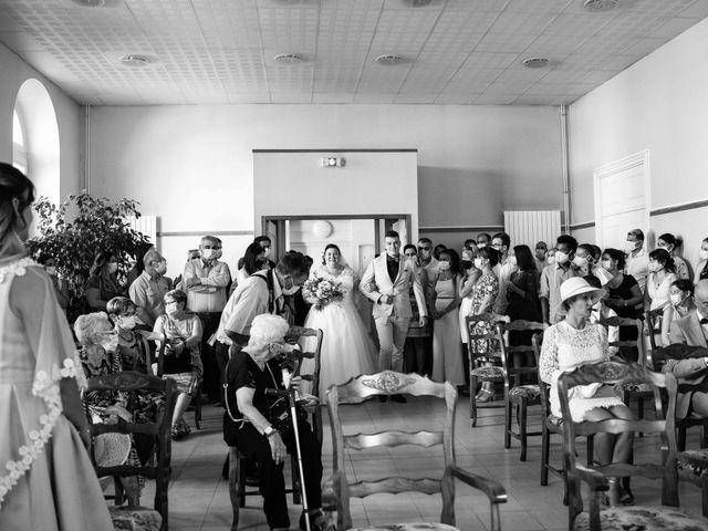 Le mariage de Baptiste et Anne Sophie à Saint-Vallier, Drôme 19