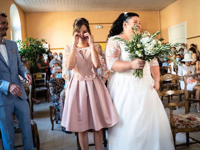 Le mariage de Baptiste et Anne Sophie à Saint-Vallier, Drôme 20