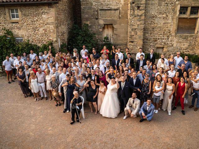 Le mariage de Baptiste et Anne Sophie à Saint-Vallier, Drôme 34