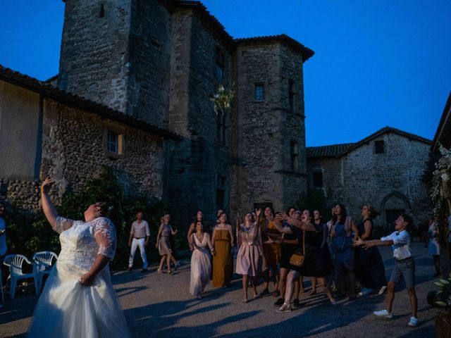 Le mariage de Baptiste et Anne Sophie à Saint-Vallier, Drôme 36