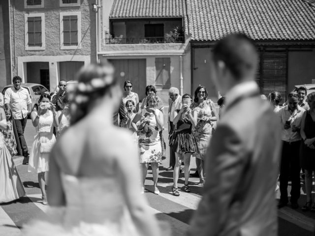 Le mariage de Nicolas et Stéphanie à Ouveillan, Aude 33
