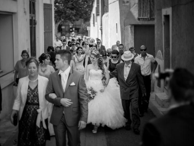 Le mariage de Nicolas et Stéphanie à Ouveillan, Aude 39
