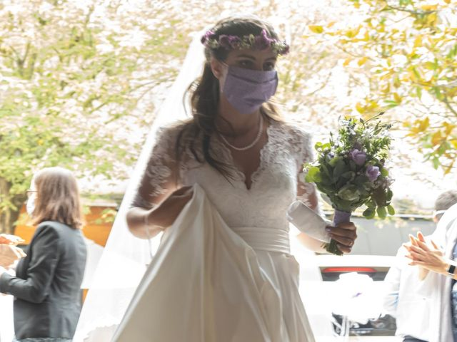 Le mariage de Hadrien et Elodie à Sceaux, Hauts-de-Seine 4