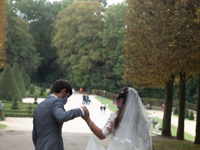 Le mariage de Hadrien et Elodie à Sceaux, Hauts-de-Seine 8